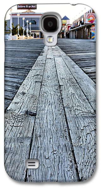 Landmarks Photographs Galaxy S4 Cases - The Boardwalk Galaxy S4 Case by JC Findley