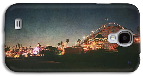 Santa Cruz Ca Galaxy S4 Cases - The Boardwalk Galaxy S4 Case by Laurie Search