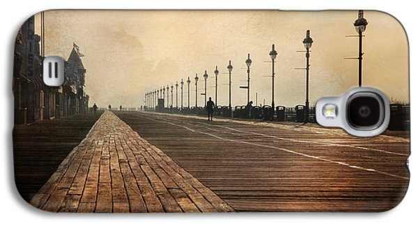 Lori Deiter Digital Art Galaxy S4 Cases - The Boardwalk Galaxy S4 Case by Lori Deiter
