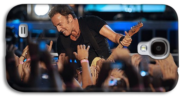 Bruce Springsteen Photographs Galaxy S4 Cases - The Boss 22 Galaxy S4 Case by Rafa Rivas