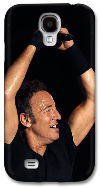 Bruce Springsteen Photographs Galaxy S4 Cases - The Boss 9 Galaxy S4 Case by Rafa Rivas