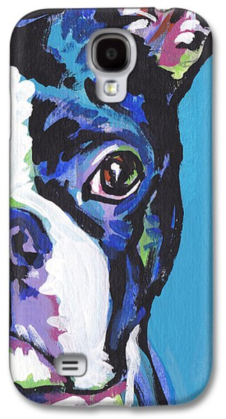 Puppies Galaxy S4 Cases - The Boss Galaxy S4 Case by Lea