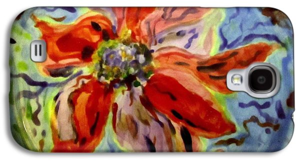 Nature Ceramics Galaxy S4 Cases - The Bowl with the Flower Galaxy S4 Case by Martha Nelson