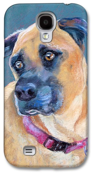 Boxer Pastels Galaxy S4 Cases - The Boxer Galaxy S4 Case by Julie Maas