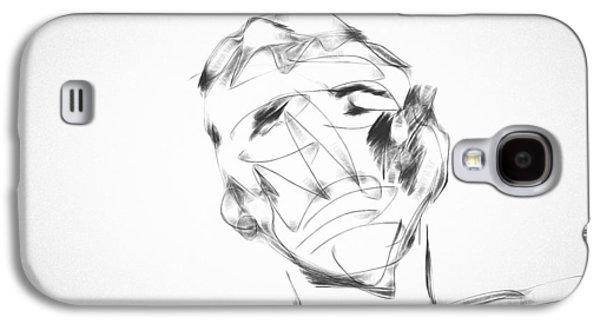 Boxer Digital Art Galaxy S4 Cases - The Boxer Galaxy S4 Case by Ken Anderson Jr