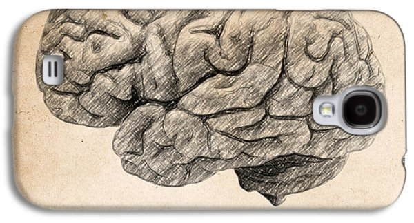 Philosophical Galaxy S4 Cases - The brain is wider than the sky Galaxy S4 Case by Taylan Soyturk