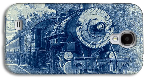 Caboose Photographs Galaxy S4 Cases - The Brakeman - Vintage Galaxy S4 Case by Robert Frederick