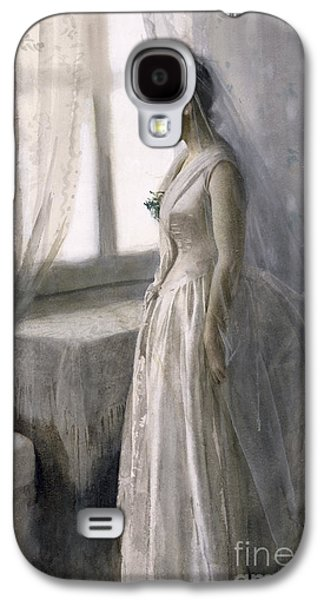 Chair Galaxy S4 Cases - The Bride Galaxy S4 Case by Anders Leonard Zorn