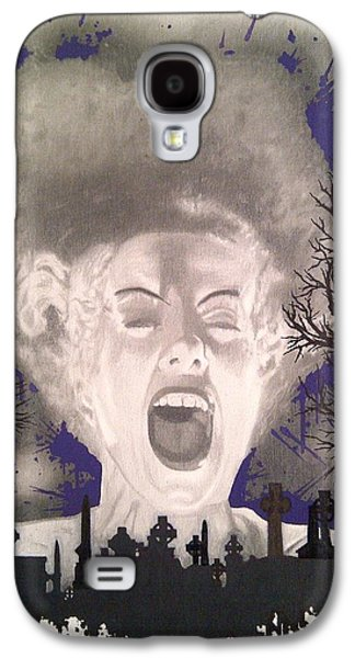 The Bride Galaxy S4 Case by Asev One