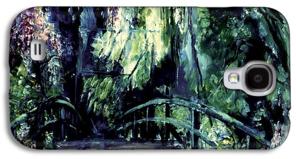 Self Discovery Paintings Galaxy S4 Cases - The Bridge Galaxy S4 Case by Shari Silvey