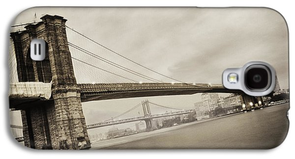 Bridge Galaxy S4 Cases - The Brooklyn Bridge Galaxy S4 Case by Eli Katz