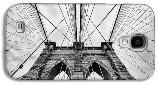 Reality Galaxy S4 Cases - The Brooklyn Bridge Galaxy S4 Case by John Farnan