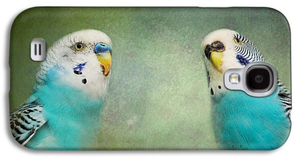 The Budgie Collection - Budgie Pair Galaxy S4 Case by Jai Johnson