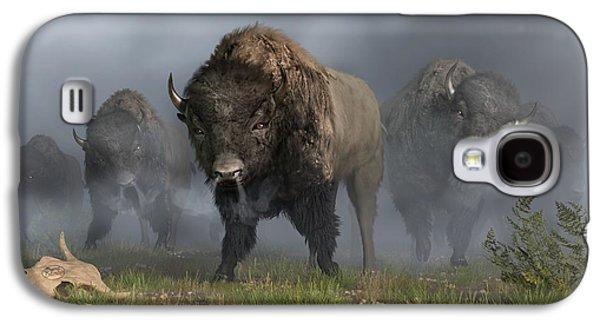 The Buffalo Vanguard Galaxy S4 Case by Daniel Eskridge