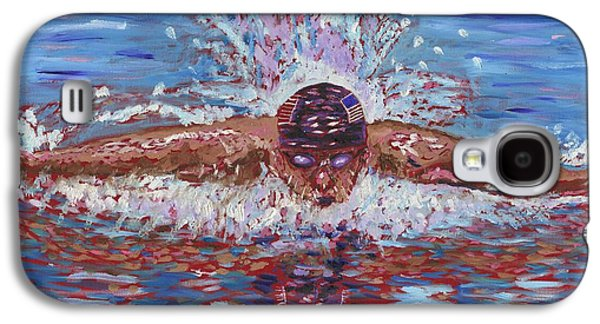 Olympic Gold Medalist Galaxy S4 Cases - The Butterfly Galaxy S4 Case by Preston Sandlin
