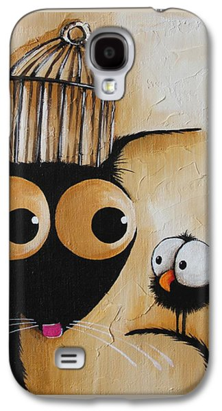 The Cage Galaxy S4 Case by Lucia Stewart