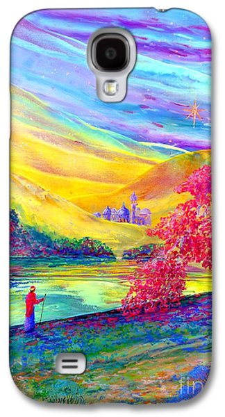 Starry Paintings Galaxy S4 Cases - The Calling Galaxy S4 Case by Jane Small