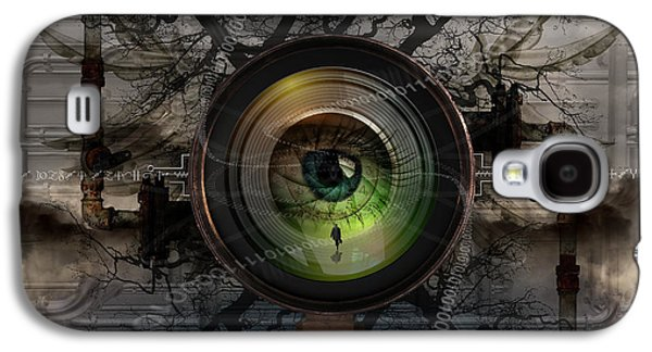 Data Photographs Galaxy S4 Cases - The Camera Eye Galaxy S4 Case by Keith Kapple