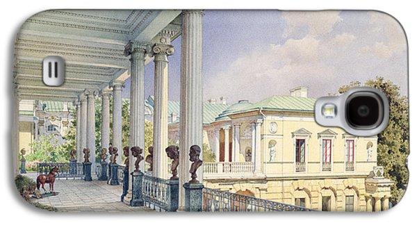 Neo Galaxy S4 Cases - The Cameron Gallery At Tsarskoye Selo, 1859 Wc & White Colour On Paper Galaxy S4 Case by Luigi Premazzi