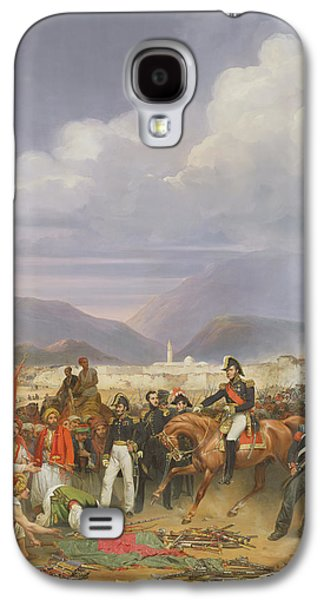 Liberation Galaxy S4 Cases - The Capture Of Morea Castle, 30th October 1828, 1836 Oil On Canvas Galaxy S4 Case by Jean Charles Langlois