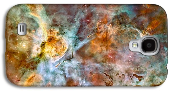 Birth Stars Galaxy S4 Cases - The Carina Nebula - Star Birth In The Extreme Galaxy S4 Case by Marco Oliveira