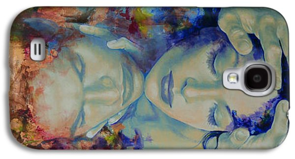 Yang Galaxy S4 Cases - The Celestial Consonance Galaxy S4 Case by Dorina  Costras