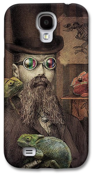Chameleon Galaxy S4 Cases - The Chameleon Collector Galaxy S4 Case by Eric Fan
