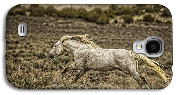 Horse Images Galaxy S4 Cases - The Chaperone Galaxy S4 Case by Joan Davis