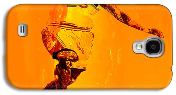 Dwyane Wade Galaxy S4 Cases - The Chosen One Galaxy S4 Case by Brian Reaves