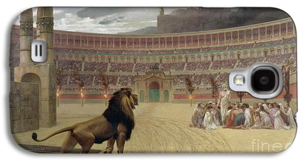 The Christian Martyrs Last Prayer Galaxy S4 Case by Jean Leon Gerome