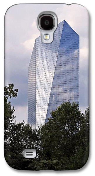 Urban Photographs Galaxy S4 Cases - The Cira Centre Galaxy S4 Case by Rona Black