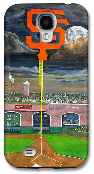 Baseball Stadiums Paintings Galaxy S4 Cases - The City Gets Even Galaxy S4 Case by Ryan Williams