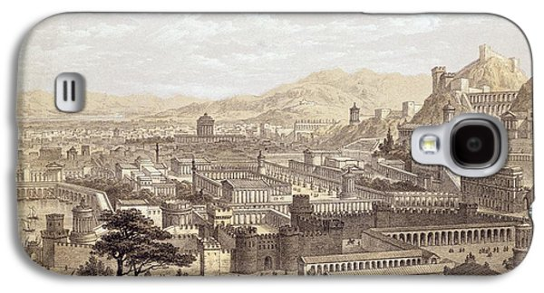 The City Of Ephesus From Mount Coressus Galaxy S4 Case by Edward Falkener
