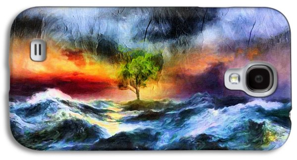 Flooding Galaxy S4 Cases - The Clearing Of The Flood Galaxy S4 Case by Georgiana Romanovna