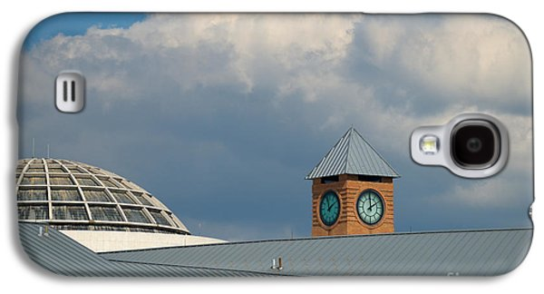 Mhs Galaxy S4 Cases - The Clock and the Dome Galaxy S4 Case by Mark Dodd