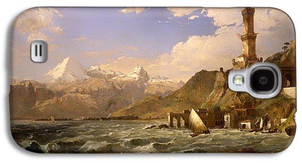 The Coast Of Genoa Galaxy S4 Case by Mountain Dreams