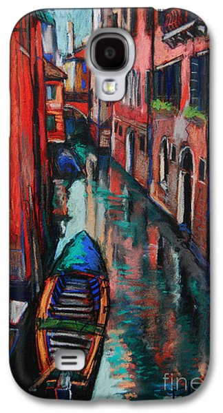 Chimneys Galaxy S4 Cases - The Colors Of Venice Galaxy S4 Case by Mona Edulesco