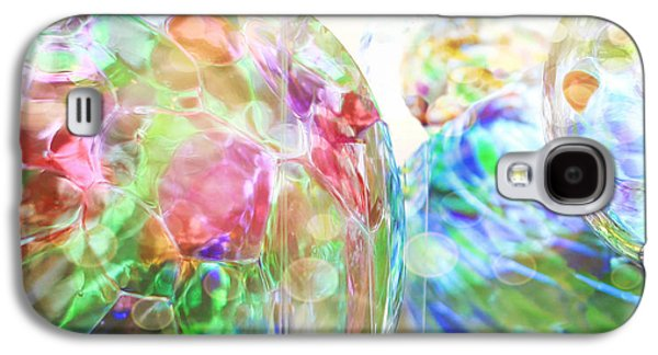Abstract Digital Photographs Galaxy S4 Cases - The Colors Spin Galaxy S4 Case by K Hines