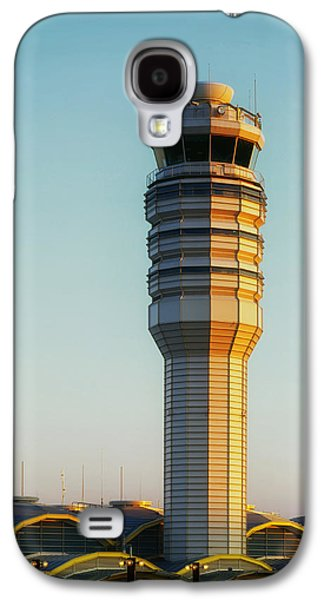 Traffic Control Galaxy S4 Cases - The Control Tower at Ronald Reagan National Airport Galaxy S4 Case by Mountain Dreams