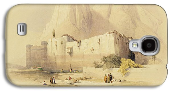 Catherine Galaxy S4 Cases - The Convent of St. Catherine Galaxy S4 Case by David Roberts