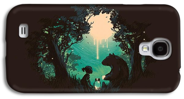 Moon Digital Galaxy S4 Cases - The Conversationalist Galaxy S4 Case by Budi Kwan
