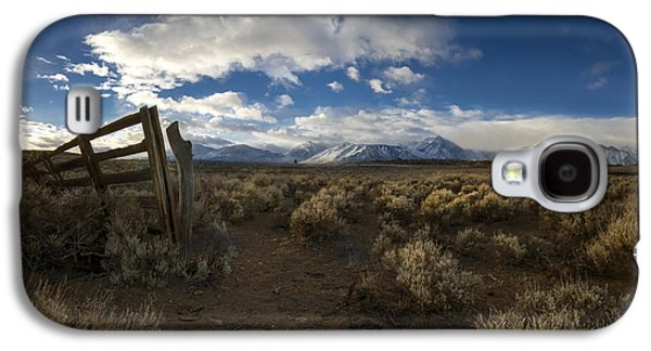 Snow Capped Galaxy S4 Cases - The Corral Galaxy S4 Case by Sean Foster