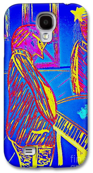 Piano Pastels Galaxy S4 Cases - The Cotton Club Galaxy S4 Case by Bill OConnor