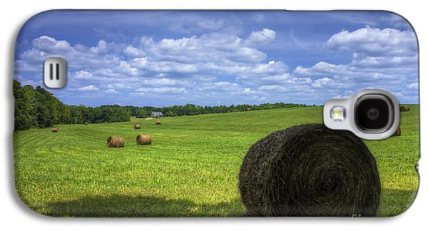 Hayfield Galaxy S4 Cases - The Country House Hayfield Galaxy S4 Case by Reid Callaway