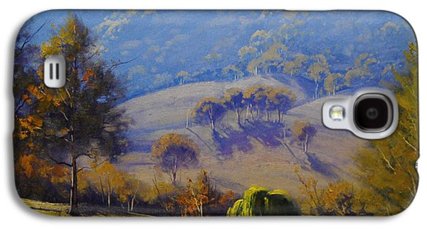 Beautiful Creek Paintings Galaxy S4 Cases - The Coxs river Galaxy S4 Case by Graham Gercken