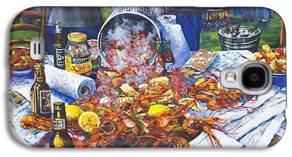 New Galaxy S4 Cases - The Crawfish Boil Galaxy S4 Case by Dianne Parks