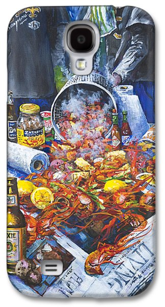 Food Galaxy S4 Cases - The Crawfish Boil Galaxy S4 Case by Dianne Parks