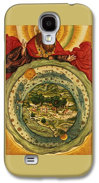 The Creation, From The Lutheran Bible Galaxy S4 Case by German School