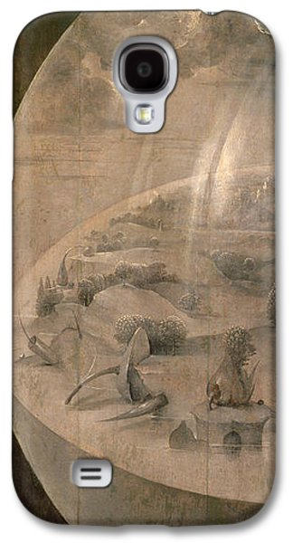 Globe Paintings Galaxy S4 Cases - The Creation of the World Galaxy S4 Case by Hieronymus Bosch