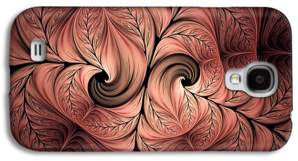 Youthful Digital Art Galaxy S4 Cases - The Creative Mind Galaxy S4 Case by Georgiana Romanovna